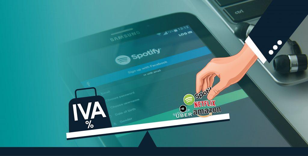 Resultado de imagen para amazon spotify netflix iva