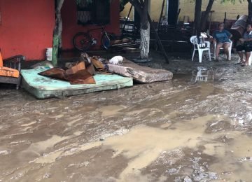 Damnificados inundación