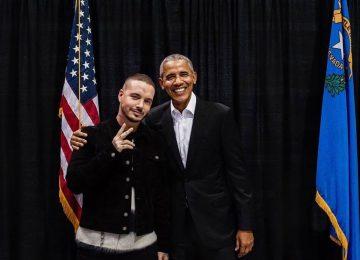 Obama ama a J Balvin