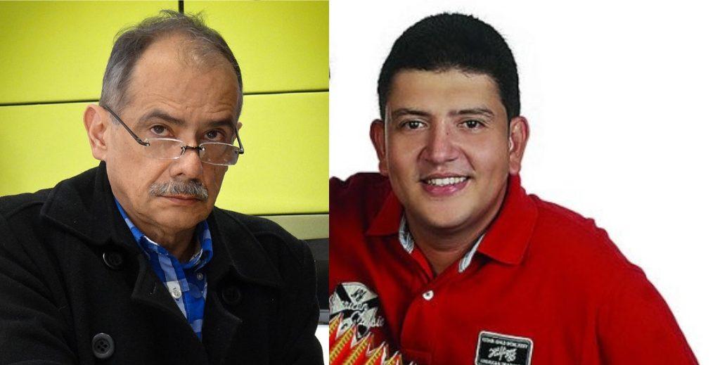 Gonzalo Guillén y Andrés Zuleta